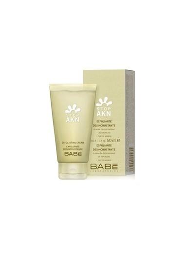 Babe Babe Stop-Akn Exfoliating Cream - Yağlı Ciltler İçin Krem Temizleyici 50ml Renksiz